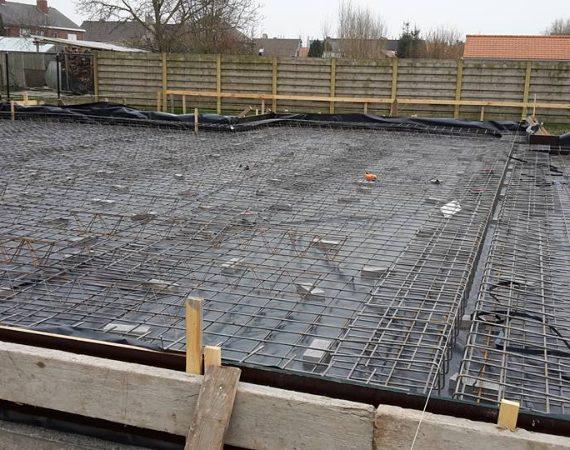 nieuwbouwproject 3 gezinswoningen